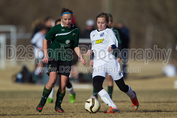 U13 TCYSA Lady Twins Blue G vs 01 Gold G West 1/26/2014