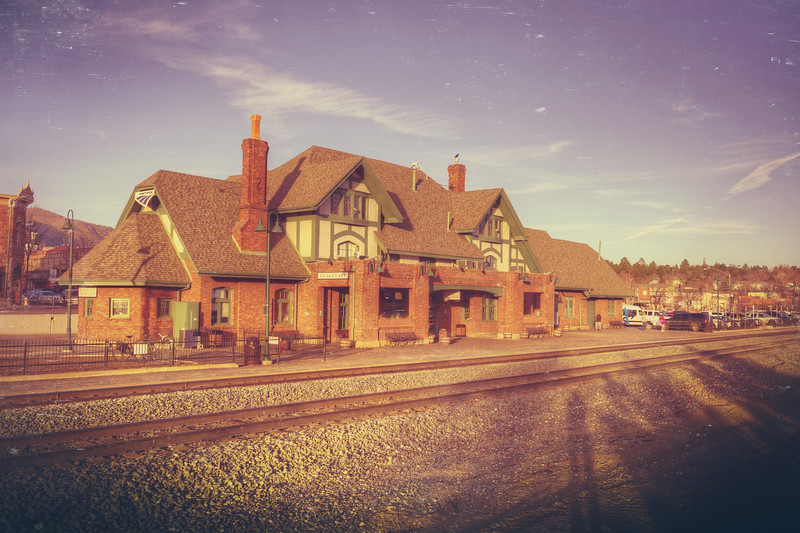 Flagstaff Train Station