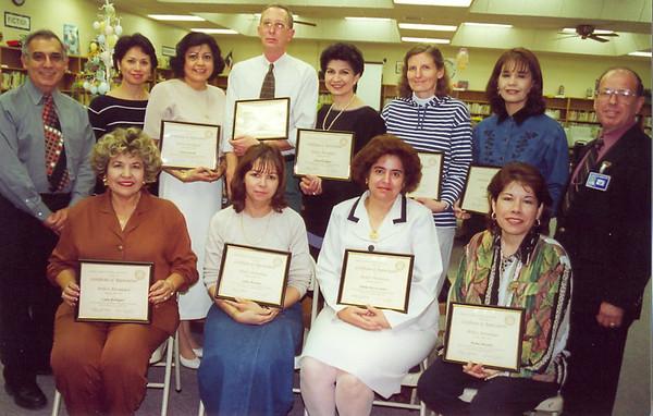 April 2000 Lamar Service Awards