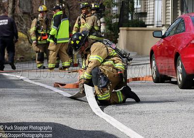 Structure Fire - 2350 Washington Blvd, Stamford, CT - 4/10/17