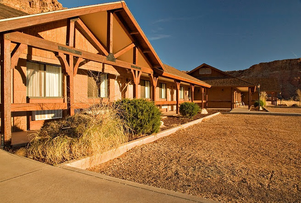 Some of our rooms at Cliff Dwellers Lodge.jpg