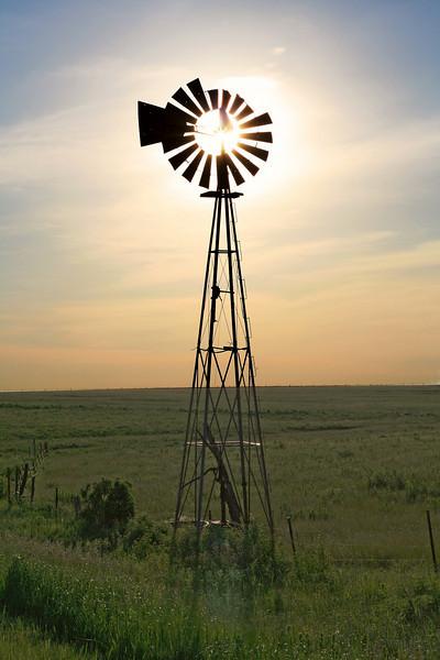 Kansas windmill.