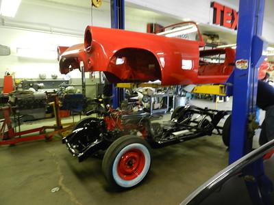 1955 Ford Thunderbird Restoration - Jon Misner....... ,
