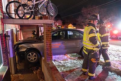 5331 S. Delaware Car vs. Apartment Accident