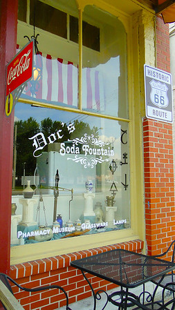 Doc's Soda Fountain and Deck's Pharmacy Museum in Girard