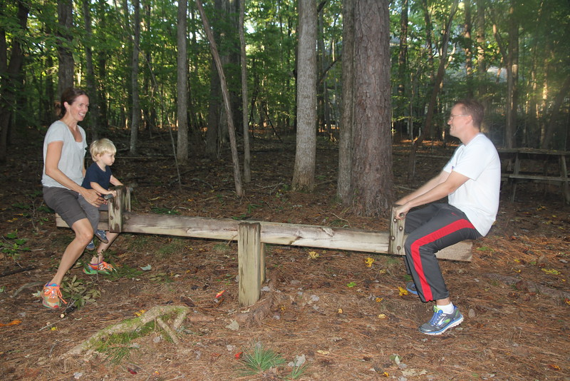 how many playgrounds still have a wooden teeter-totter?