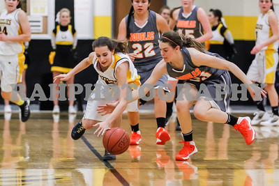 Varsity Girls vs Galena 01-31-2014