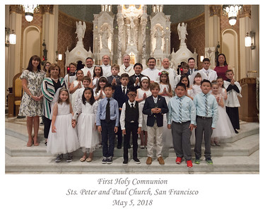 2018 SSPP First Holy Communion