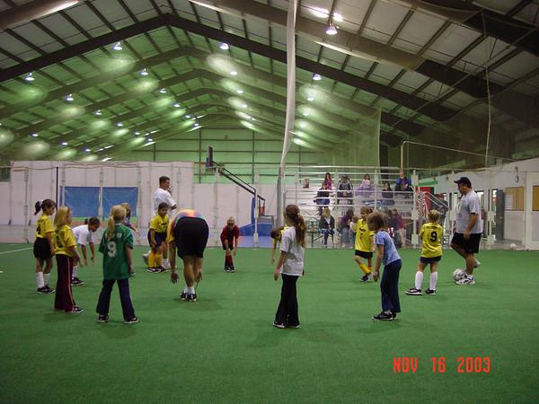 Stingers Practice 11-16-03
