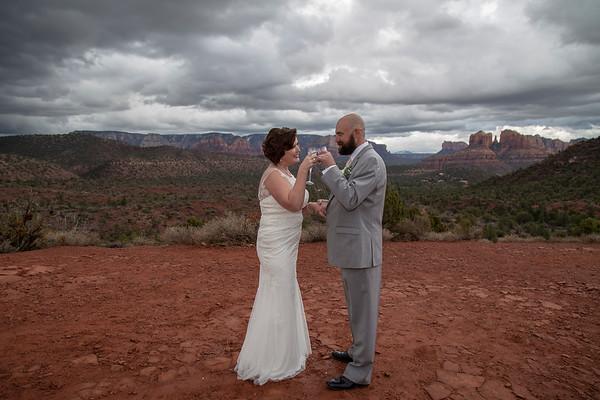 Michele & Brad's Sedona Wedding
