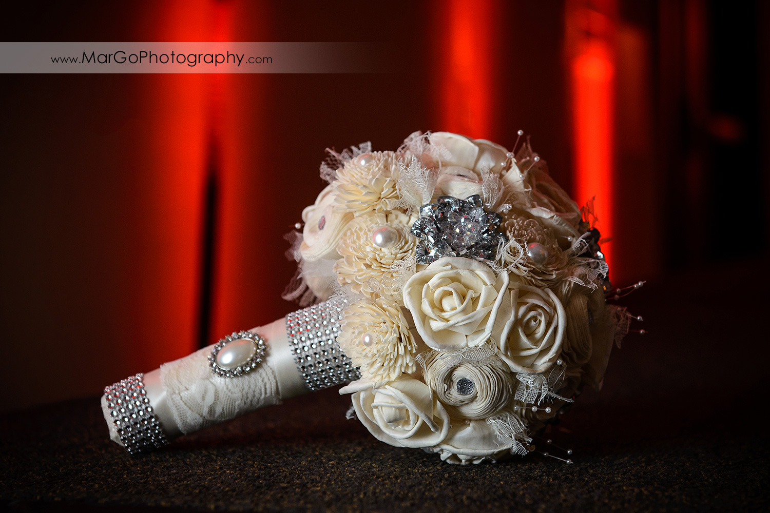 wedding bouquet at Hilton San Francisco Airport Bayfront in Burlingame