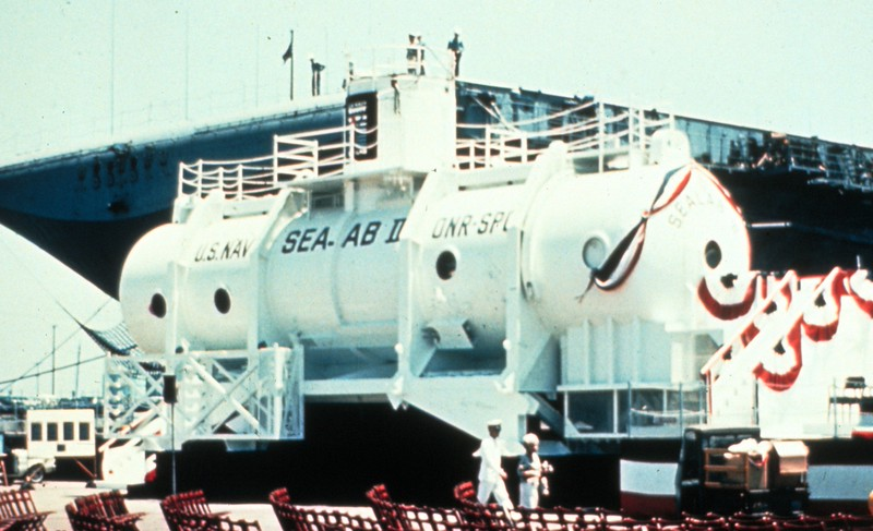 The Sealab habitat.