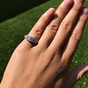 1.70ctw Edwardian 5-stone Old European Cut Diamond Band 14