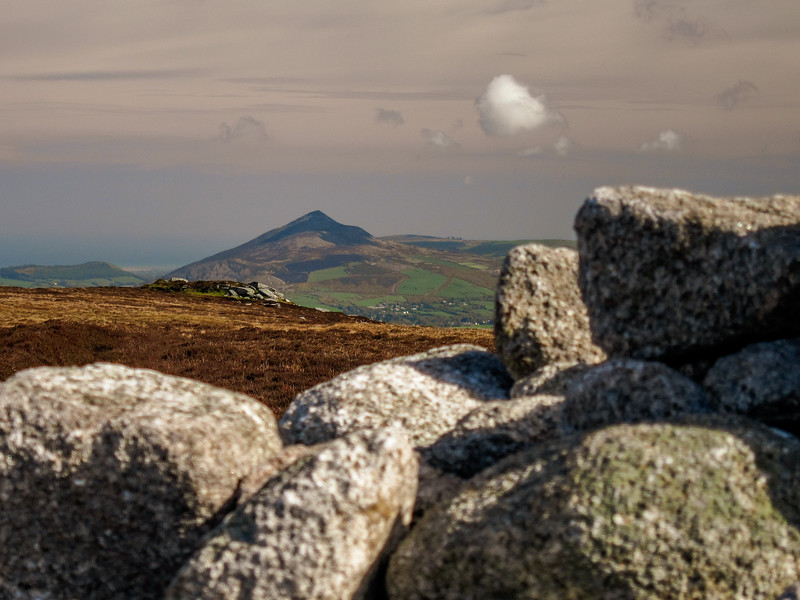 Towards the Great Sugarloaf from Two Rock Mountain