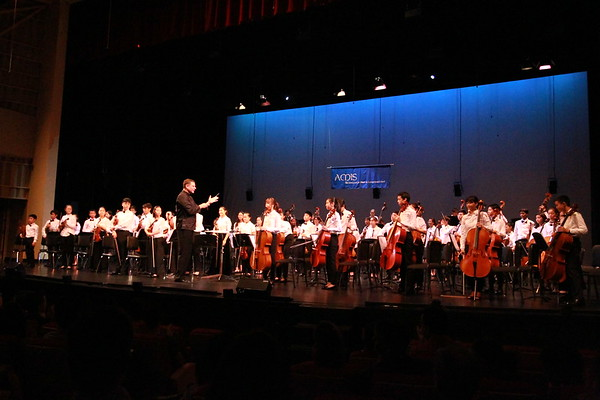 Asian Middle School Honor Orchestra Festival