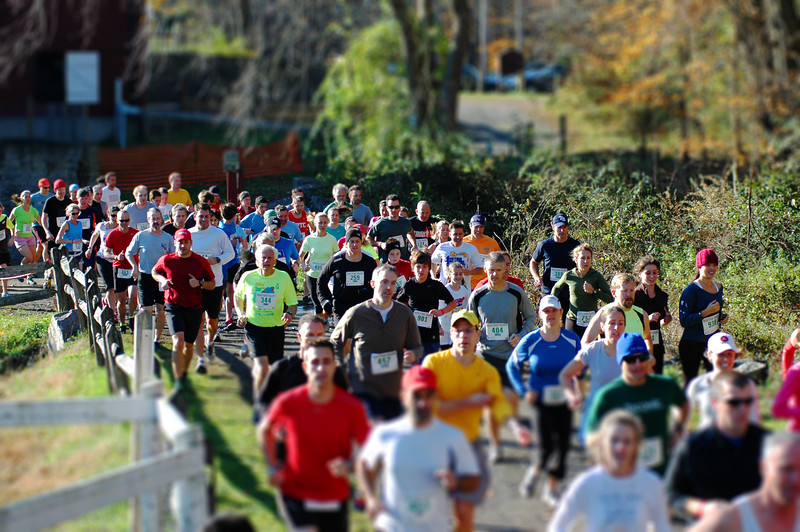 Start of Run The Farm 2012. Photo by Chris Reinke.