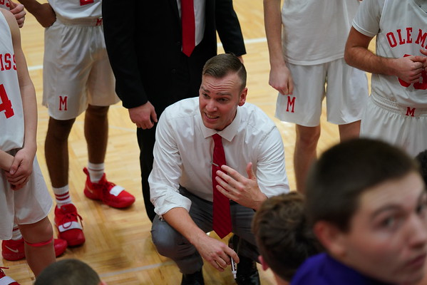 Mississinewa vs Madison Grant Boys Basketball 12-14-18