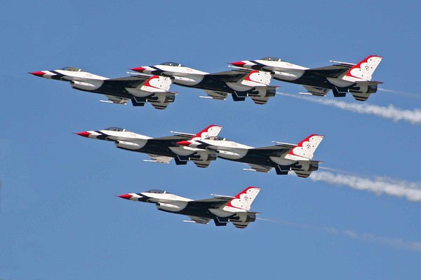 Milwaukee Air Show & Thunderbirds
