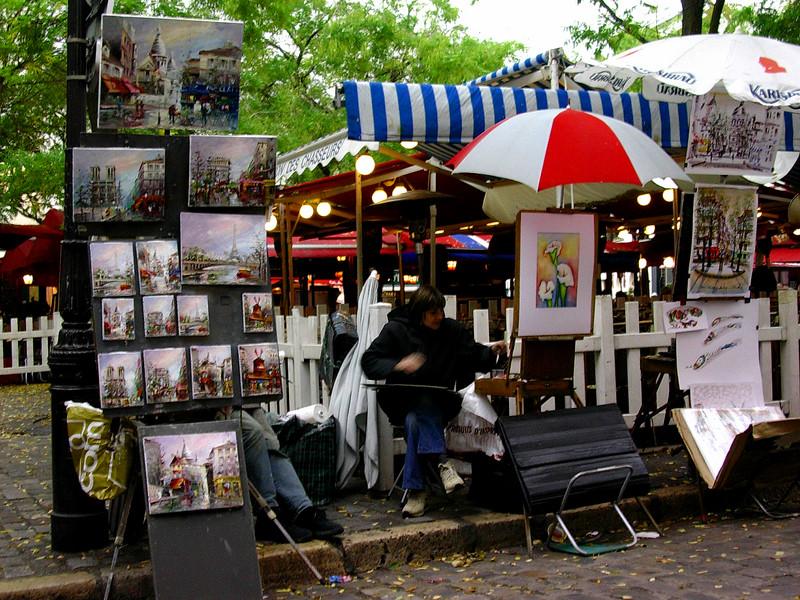 Place de Tertre, Montmartre (Foto: Ståle)