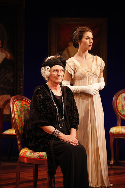 Jill Tanner and Janie Brookshire in MARY BROOME by Allan Monkhouse  Photo: Carol Rosegg Photography