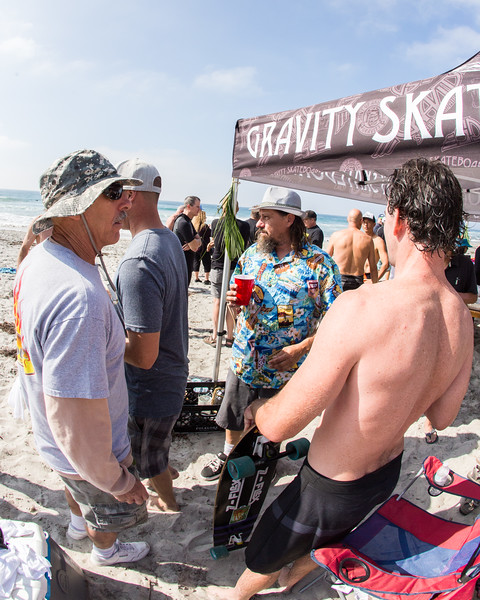 surfers remembering brad edwards paddle out memorial service in south ponto beach