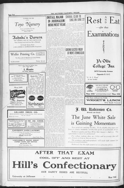 The Southern California Trojan, Vol. 12, No. 85, June 10, 1921