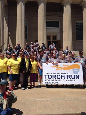 2014 Clinton County  Torch Run