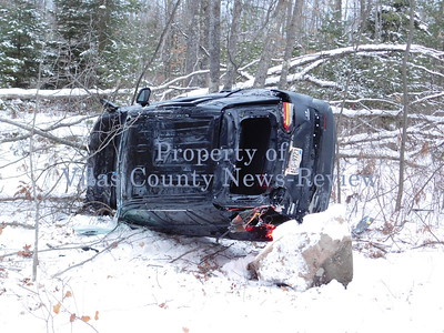 Accident on Highway M in Sugar Camp