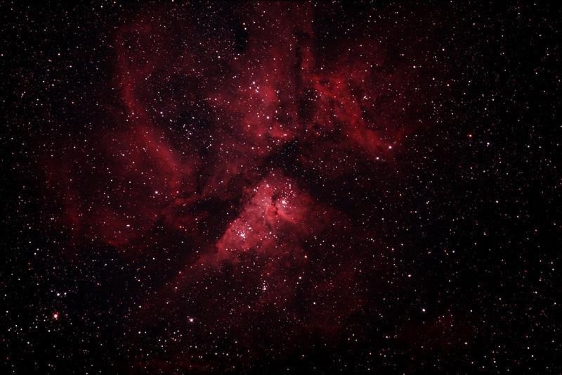 Caldwell 92 - NGC3372 - Eta Carinae Nebula - 26/12/2012 (Processed stack)