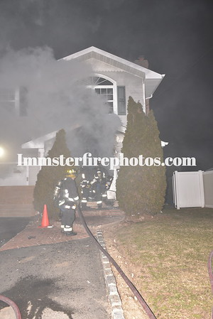 HICKSVILLE FD THORMAN AVE HOUSE FIRE 1-20-2020