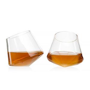 Diamond Decanter w/2 glass