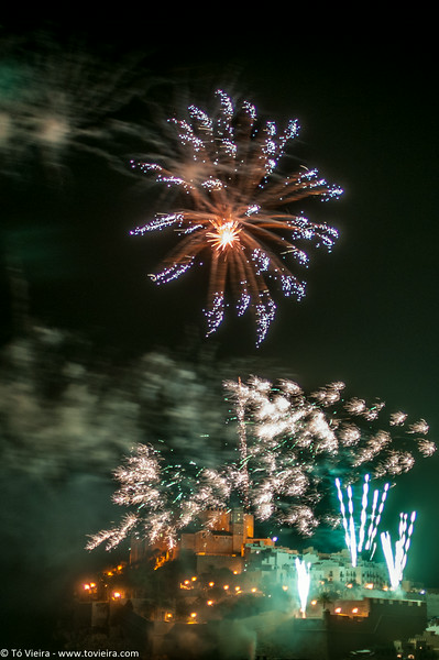 Peñíscola - fogo de artificio