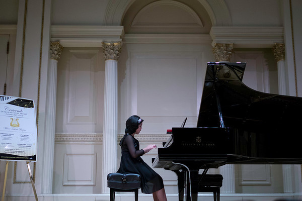 Liesl's Piano Recital at Carnegie Hall 2013