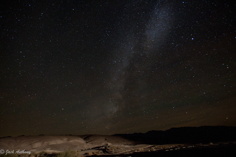 Milky Way in Death Valley