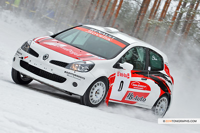 02.02.2014 | Rallisprint SM, Suonenjoki