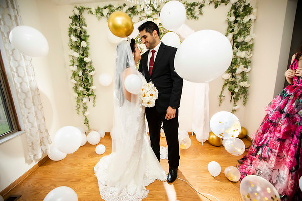 Sarah + Ahmed: Married
