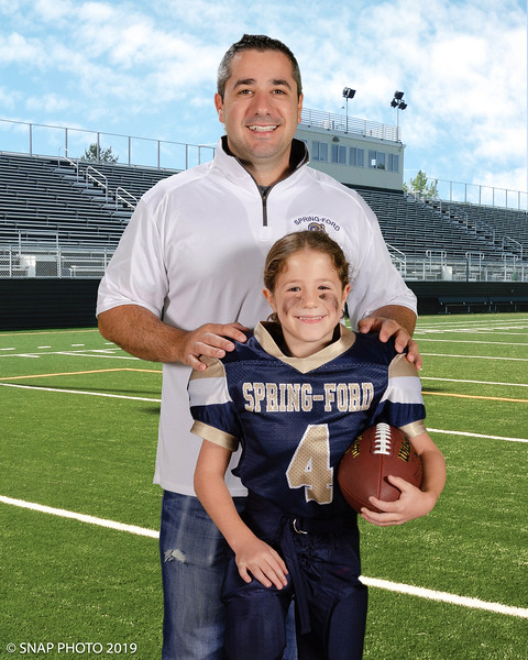 2019 Spring-Ford Rams Coach-Player Shots