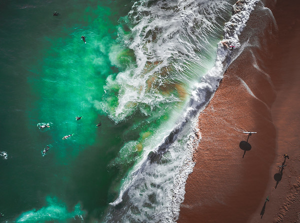 Coastal Ocean Drone Photos