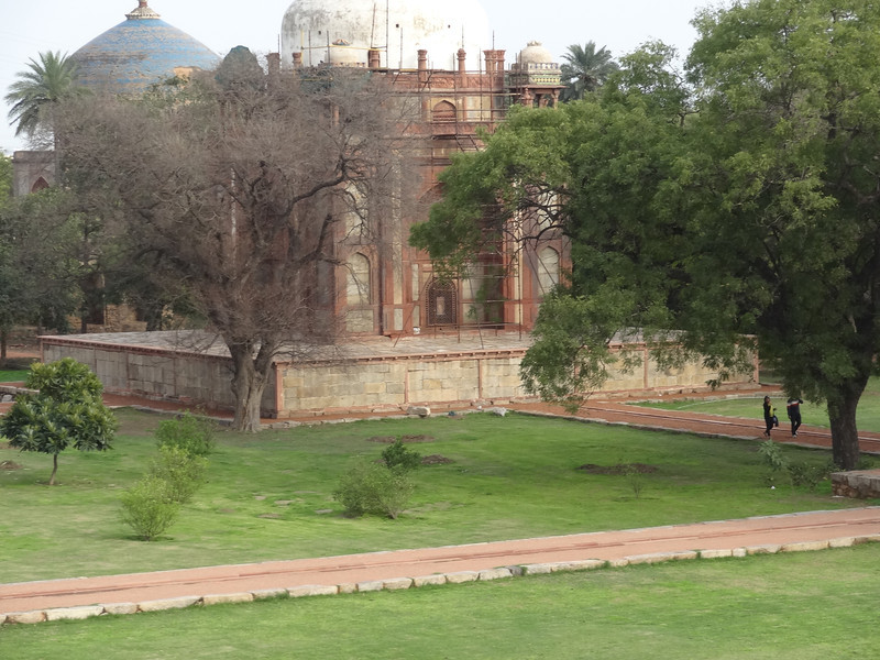 Monument to Humayun's wife