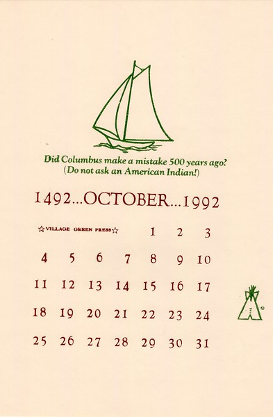 October, 1992, Village Green