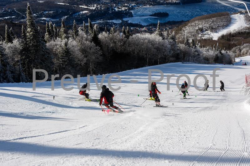 2019-12-28 Club De Ski Training