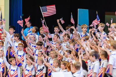 Fourth Grade Patriotic Assembly