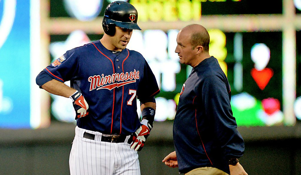 """. 9. MINNESOTA TWINS <p>Somehow managed to win 7 out of past 22 games.   <p><b><a href=\'http://www.twincities.com/twins/ci_26099287/jeter-collects-3-400th-hit-yankees-beat-twins\' target=\""""_blank\""""> LINK </a></b> <p>   (Pioneer Press: John Autey)"""