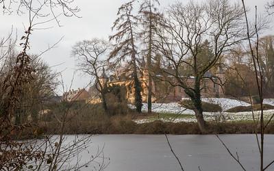 Les bois de Rixensart en hiver