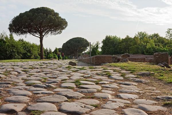 Les rues - Ostia antica
