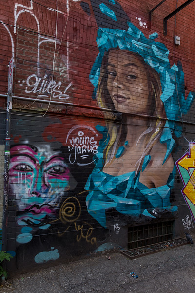 A Tour Of Graffiti Alley