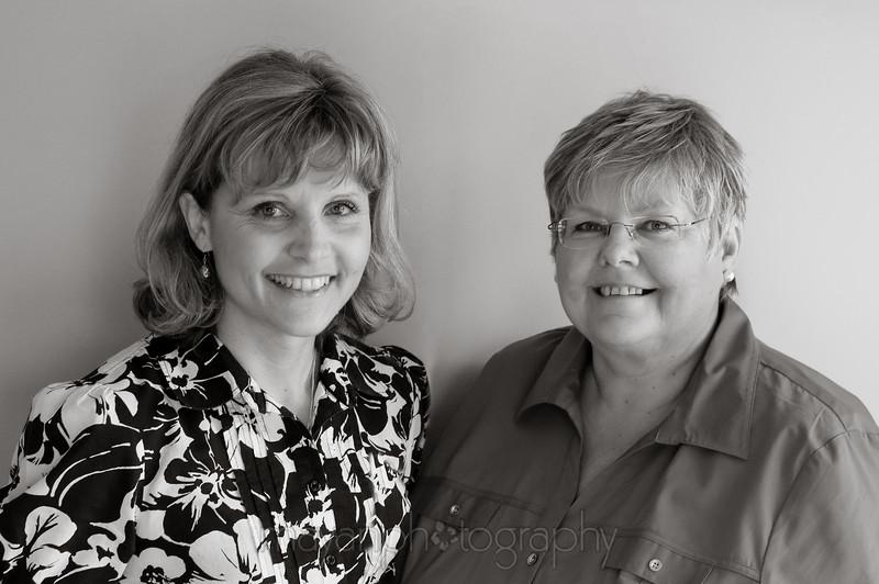 Christine and Debra