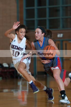 Ladies Varsity Basketball - Mason at Okemos