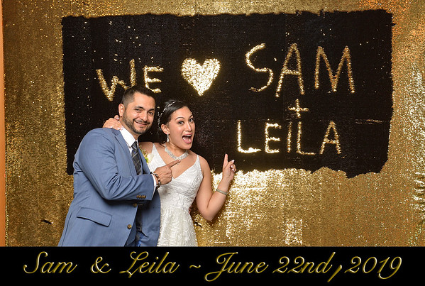 Sam & Leila - June 22nd, 2019