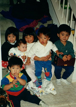 Cal Gang kids Seal Beach 1998